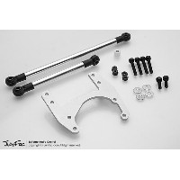Heavy Duty Front Steering Rods with Servo Plate for Tamiya High-Lift Axles J44221 Gmadejapan...