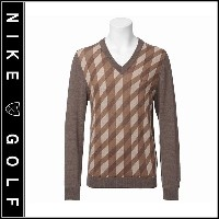 【Nike Golf】ナイキゴルフTIGER WOODS COLLECTIONPullover WoolSweaterプルオーバー ウールセーター