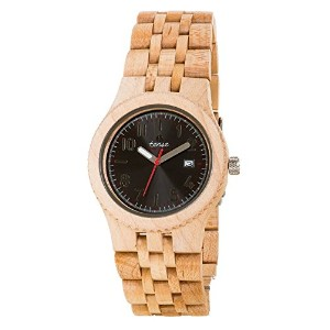 テンス 時計 腕時計 木製 Tense Discovery Yukon Jumbo Round Maple Wood Watch J5200M DF