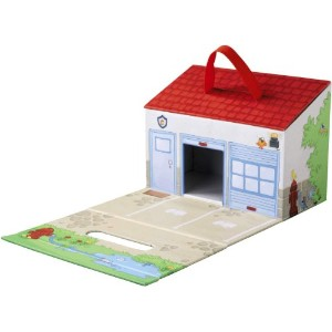 HABA ハバ社 おもちゃ 知育玩具 消防士 プレイセット My First Play World - Fire Brigade Large Play Set