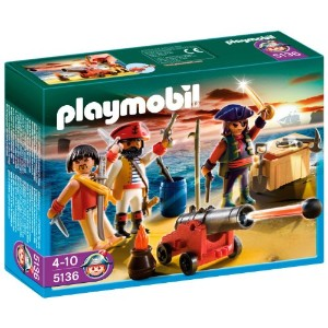 プレイモービル 5136 海賊と武器 PLAYMOBIL Pirates Commander with Armory