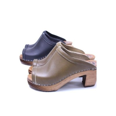 EXPERT(エキスパート)HIGHT HEEL OPEN TOE CLOGS NEP1511H【Lady's】