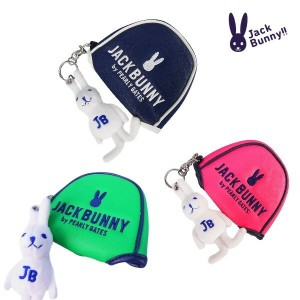 【NEW】Jack Bunny!! by PEARLY GATES ジャックバニーラビットチャーム付き2ボール(大型マレット)パターカバー262-6984101/7984201