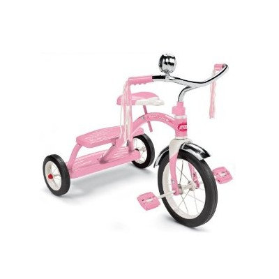 Radio Flyer Girls Classic Pink Dual Deck Tricycle ラジオフライヤー