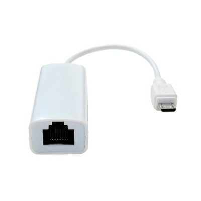 ◆△Androidタブレット用有線LANアダプタ【TIMELY】TM-microUSBLAN