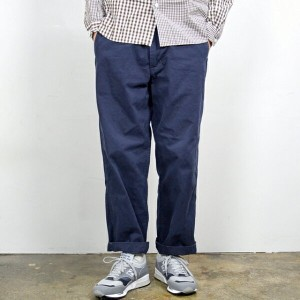 MASTER&Co.(マスターアンドコー)/CHINO PANTS with BELT -(39)NAVY- 【Z】