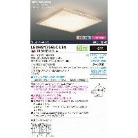 LEDH81756LC-LT4 東芝 和風シーリングライト 調光・調色 LED(調色) ~8畳 532P15May16 lucky5days
