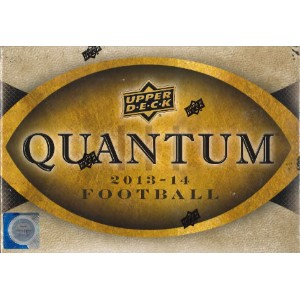 2013/2014 UPPER DECK QUANTUM FOOTBALL