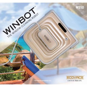 W710 窓用 清掃ロボット WINBOT by ECOVACS社 Champagne