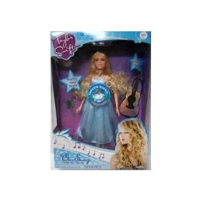 Taylor Swift Performance Collection Singing Doll Our Song