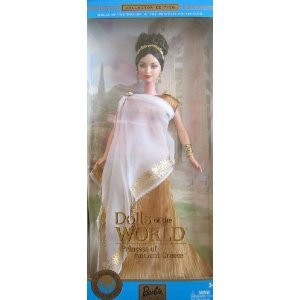 Barbie Dolls of the World Princess of Ancient Greece