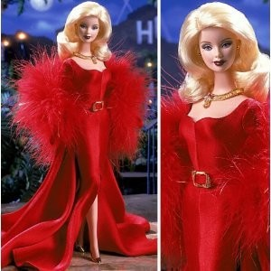 Barbie 2001 Collector Edition Fifth in A Series Hollywood Movie Star Collection 12 Inch Doll - Bar