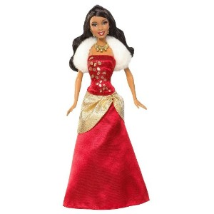 Barbie バービー Holiday Wishes African-American Doll 人形 ドール