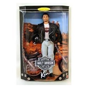 Barbie(バービー) Collector Edition: Harley Davidson Motorcycles Ken Doll ドール 人形 フィギュア