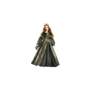 Barbie バービー Aine Collector Doll - Legends of Ireland Silver Label 人形 ドール