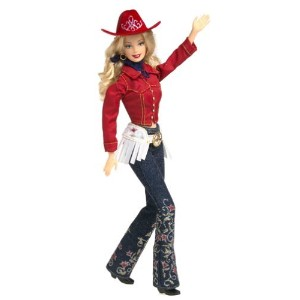 Western Chic Barbie バービー Doll Collector Edition (2001) is new in Mattel マテル社 Barbie バービ