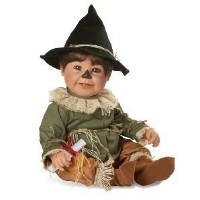 Scarecrow Wizard Of Oz 21 Inch Baby Doll 人形 ドール