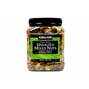 KIRKLAND【カークランド ミックスナッツ(無塩) 2.5lbs./ 1.13kg】EXTRA FANCY / UNSALTED MIXED NUTS