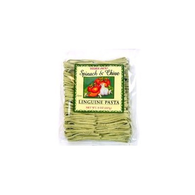 Trader Joe's 【トレーダージョーズ リングイーニパスタ スピナッチ&チャイブ 8oz(227g)】Linguine Pasta Spinach and Chive
