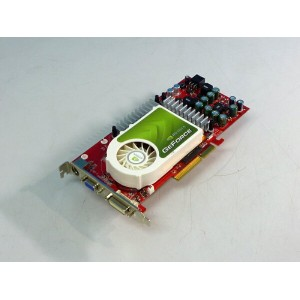 nVIDIA GeForce 6800GS GDDR3 512MB AGP対応 TV-OUT DVI NA/6800GTXD52-PM8370【中古】【全品送料無料セール中!】