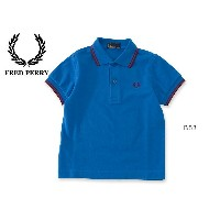 FRED PERRY CHILD DRENS POLO SHIRT■SY1200_6-MG【 キッズ&ベビー トップス ポロシャツ ギフト プレゼント フレッドペリー】■4012006【15s】...
