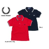 FRED PERRY CHILDRENS POLO SHIRT■SY1200【 キッズ&ベビー&ジュニア トップス チルドレンポロシャツ ポロ 半袖 フレッドペリー】■4003854【SSK★】...