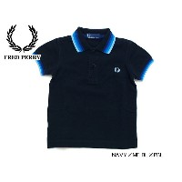 FRED PERRY CHILDRENS POLO SHIRT■SY1210【 キッズ&ベビー&ジュニア トップス チルドレンポロシャツ ポロ 半袖 フレッドペリー】■4003856【SSK★】...