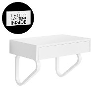 DIESEL ( ディーゼル ) with MOROSO ( モローゾ ) 「 TOTAL FLIGHTCASE 120x45x72 」 CONCRETE WHITE【取寄品】