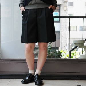 ALLEGE(アレッジ) / WIDE SHORTS (GRAY/BLACK)