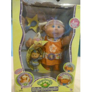 Cabbage Patch Kids キャベツパッチキッズ Magic Glow Surprise with Lil' Sprout 人形 ドール