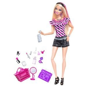 Barbie バービー Fashionistas Sassy Shops For Makeup Doll ドール