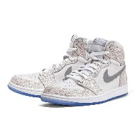 NIKE AIR JORDAN 1 RETRO LASER BG(GS) White/Metallic Silverナイキ エア ジョーダン 1 レトロ レーザーBG(GS)白
