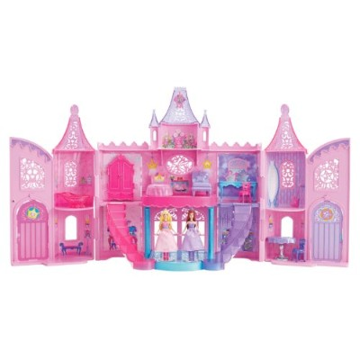 バービーBarbie The Princess and The Popstar Musical Light Up Castle Playset  X4315