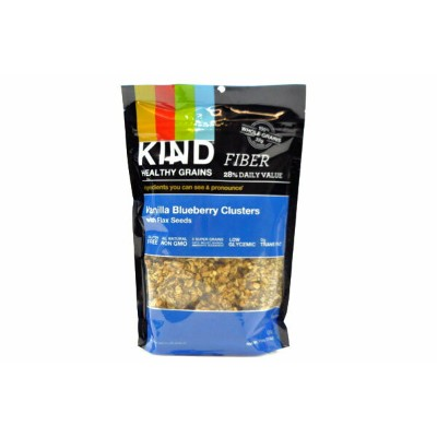 KIND【カインド バニラ ブルーベリー クラスターズwith フラックスシード 312g(11oz)】Vanilla Blueberry Clusters with Flax Seeds