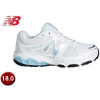 NewBalance/ニューバランス KJ680WBY-RUNNING KID JUNIOR 【18.0】 (WHITE/BLUE)