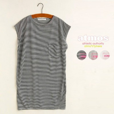 atmos POCKET TEE OP【アトモス ポケット T ワンピース】3色展開15SS-I