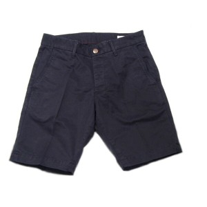 GROWN & SEWN (グロウン&ソーン) /INDEPENDENT SLIM SHORTS TWILL/navy