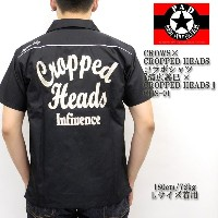 CROWS×CROPPED HEADS クローズ×クロップドヘッズ コラボシャツ 『清広義巳×CROPPED HEADS』 CHS-01