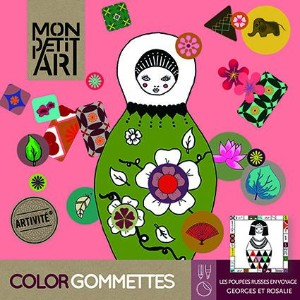 MonpetitArt Color Gommettes Matriochka -マトリョーシカ-
