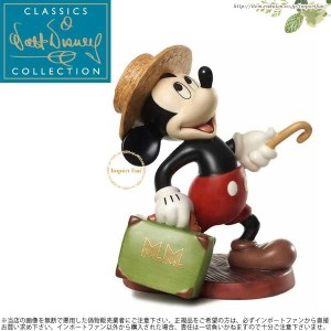 WDCC ミッキーのドキドキ汽車旅行 Mr Mouse Takes a Trip Mickey Mouse Travelers Tail 1226332 【ポイント最大41倍!楽天スーパーSALE】