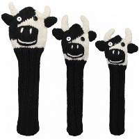 Sunfish Animal Headcover Collection Cow Headcovers【ゴルフ アクセサリー>ヘッドカバー】