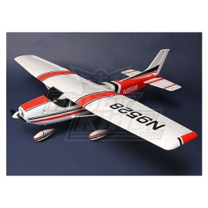 Light Aircraft 182 w/ ESC, Motor and Servos Plug-and-Fly Deluxe Version