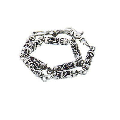 【Chrome Hearts】 クロムハーツ ウォレットチェーンローラーウォレットチェーン 9リンク、2クリップRoller Wallet Chain(9 Link、2clip)本物 正規品...
