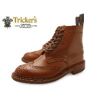 TRICKER'S Brogue Shoes MALTON COUNTRY BOOT l5180 Marron Antique BROWN トリッカーズ レディース カントリーブーツ...