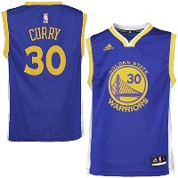 NBA NEWレプリカジャージ ステファン・カリー(ジュニア ロード)ウォリアーズ adidas Golden State Warriors Stephen Curry Youth Road...