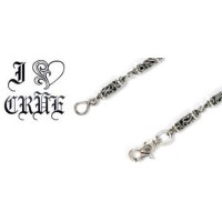【Chrome Hearts】 クロムハーツ ウォレットチェーンローラーウォレットチェーン 12リンクRoller Wallet Chain(12 Link)本物 正規品 アメリカ買付 USA直輸入