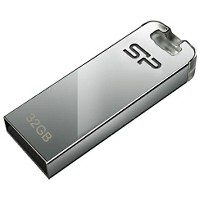 SILICONPOWER USB2.0メモリ Touch T03 (32GB・シルバー) SP032GBUF2T03V1F