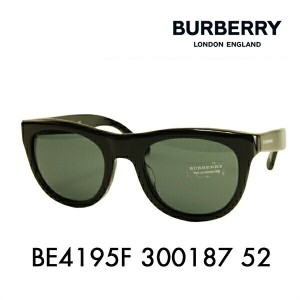 【OUTLET★SALE】アウトレット セール バーバリー サングラス BE4195F 300187 52 BURBERRY