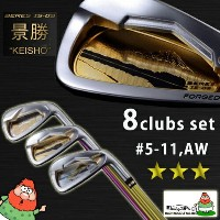 【送料無料】HONMA GOLF JAPAN BERES IS-03 3S ART SERIES KEISHO 8 Clubs Iron Set ( #5-11,AW ) ARMRQ8 49...