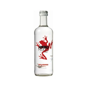 【JINRO】眞露(ジンロ)ミクストレッドペッパー(JINRO MIXED RED PEPPER)360ml「¥360⇒¥268」